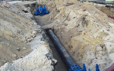 Travaux d'eau potable à Blois (41)